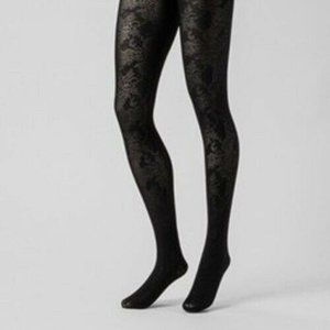 Opaque Stockings Tights A New Day Black Floral